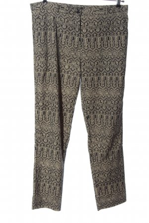 Maison Scotch Jersey Pants black-cream mixed pattern casual look