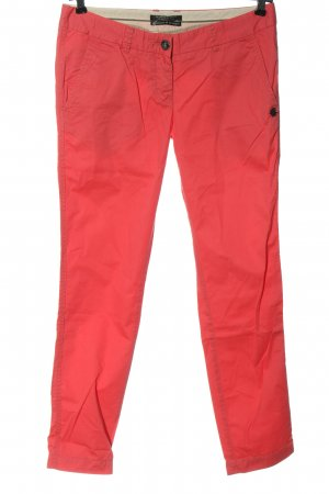 Maison Scotch Jersey Pants red casual look