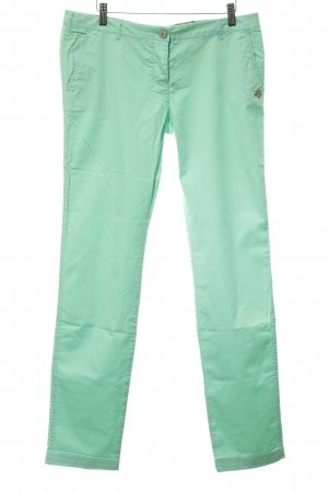 Maison Scotch Stoffhose mint extravaganter Stil