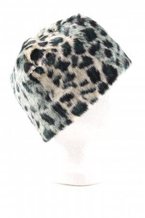 Maison Scotch Fabric Hat leopard pattern casual look