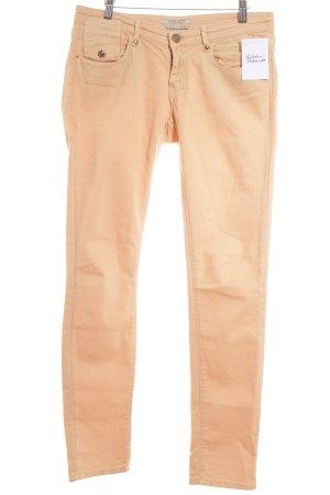 Maison Scotch Jeansy z prostymi nogawkami brzoskwiniowy Styl klasyczny