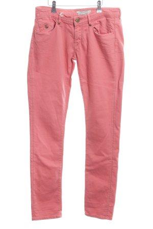 Maison Scotch Jeansy z prostymi nogawkami różowy W stylu casual