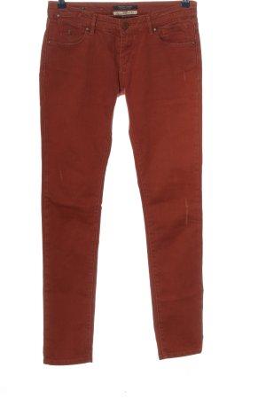 Maison Scotch Jeansy z prostymi nogawkami brązowy W stylu casual