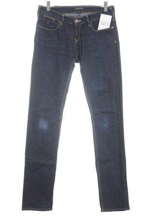 Maison Scotch Jeansy z prostymi nogawkami ciemnoniebieski W stylu casual