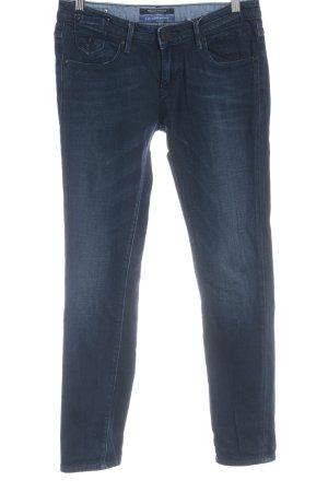 Maison Scotch Jeansy z prostymi nogawkami ciemnoniebieski Melanżowy