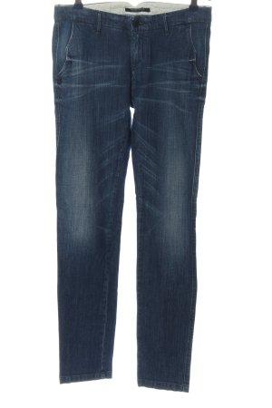 Maison Scotch Jeansy z prostymi nogawkami niebieski W stylu casual