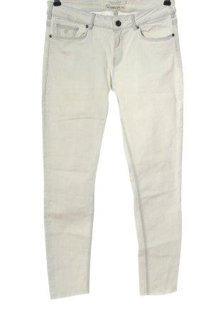 Maison Scotch Jeansy z prostymi nogawkami biały W stylu casual
