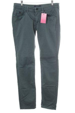 Maison Scotch Straight-Leg Jeans grüngrau Casual-Look