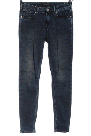 Maison Scotch Stretch Jeans blau Casual-Look