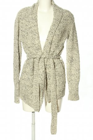 Maison Scotch Strick Cardigan wollweiß meliert Casual-Look