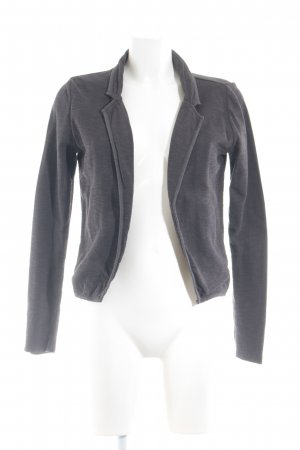 Maison Scotch Strickblazer dunkelbraun Casual-Look