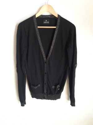 Maison Scotch Knitted Vest black-bronze-colored