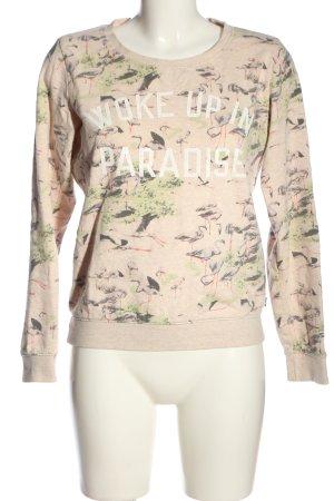 Maison Scotch Sweatshirt Schriftzug gedruckt Casual-Look