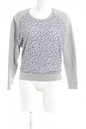 Maison Scotch Sweatshirt abstraktes Muster Casual-Look