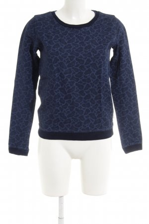 Maison Scotch Sweatshirt dunkelblau Casual-Look
