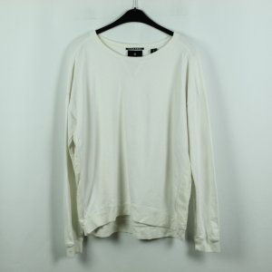 Maison Scotch Sweatshirt Gr. L weiß (20/07/055*)
