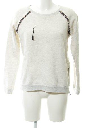 Maison Scotch Sweatshirt meliert Casual-Look