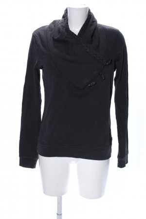 Maison Scotch Sweatshirt schwarz Casual-Look