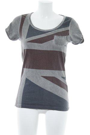 Maison Scotch T-Shirt Motivdruck Street-Fashion-Look