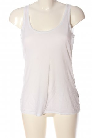 Maison Scotch Tanktop wit casual uitstraling
