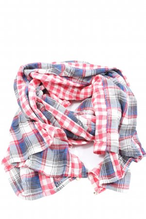 Maison Scotch Traditional Scarf check pattern casual look