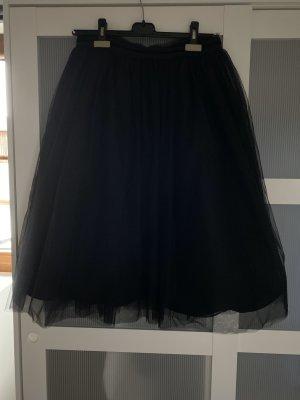 Maison Scotch Falda de tul negro