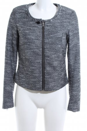 Maison Scotch Tweedblazer schwarz-weiß meliert Casual-Look