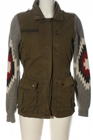 Maison Scotch Übergangsjacke grafisches Muster Casual-Look