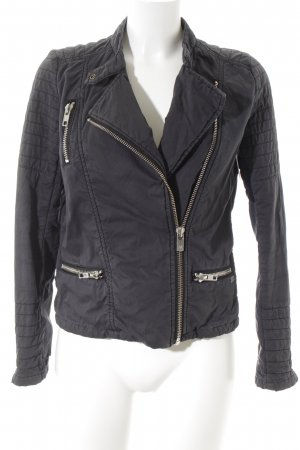 Maison Scotch Übergangsjacke graublau Casual-Look