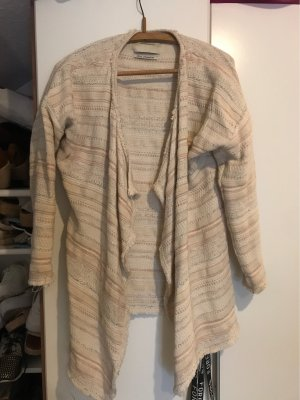 Maison Scotch Fringed Vest multicolored