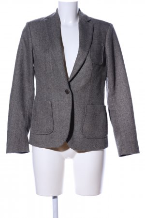 Maison Scotch Woll-Blazer hellgrau meliert Business-Look