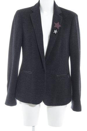 Maison Scotch Woll-Blazer dunkelgrau Brit-Look