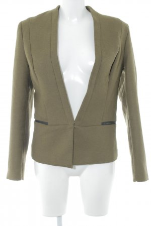 Maison Scotch Woll-Blazer ocker Business-Look