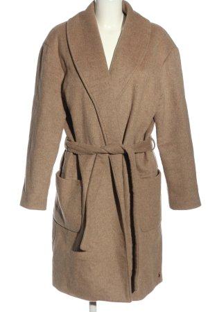 Maison Scotch Cappotto in lana marrone stile casual
