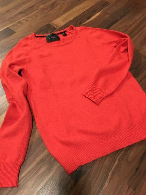 Maison Scotch Wool Sweater red wool