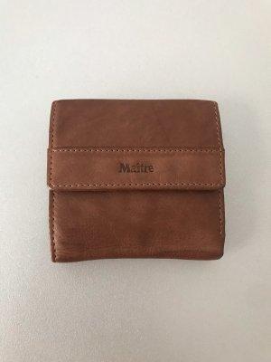 Maitre Portemonnaie Braun Leder