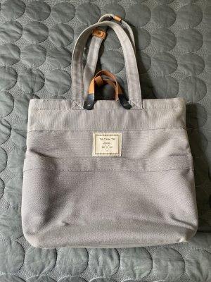 Bolsa de hombro gris claro-marrón claro