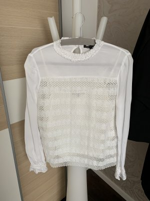 Maje Lace Blouse white-natural white