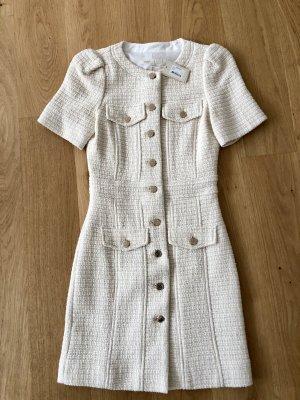 Maje Bouclé Tweed Kleid