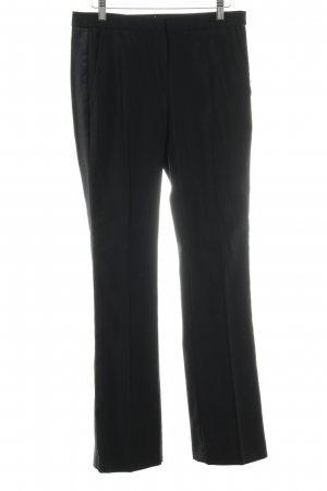 Maje Bundfaltenhose schwarz Business-Look