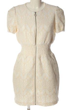 Maje Sheath Dress cream elegant