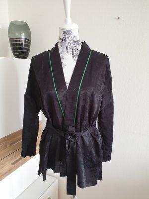 Maje Kimono black-forest green viscose