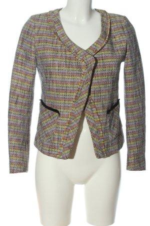 Maje Veste tricotée en grosses mailles motif rayé style décontracté