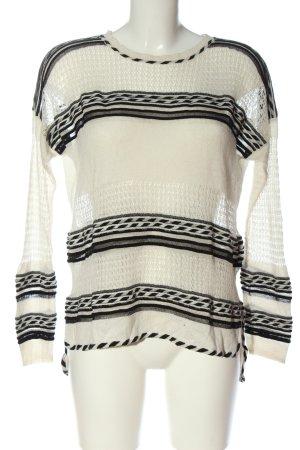 Maje Crochet Sweater white casual look