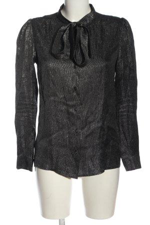 Maje Hemd-Bluse schwarz meliert Elegant