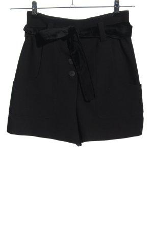 Maje High-Waist-Shorts schwarz Elegant