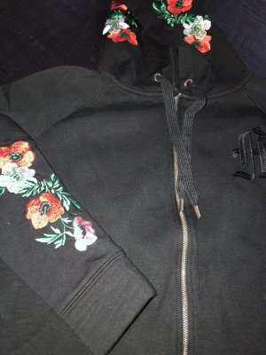 Maje Hoody mit Blumen  Gr 1. / 34-36