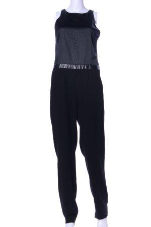 Maje Jumpsuit schwarz Animalmuster Elegant