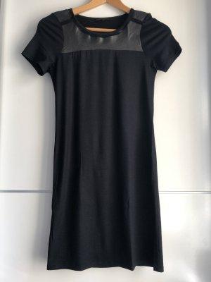 Maje Shirt Dress black