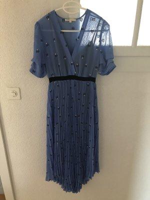 Maje Kleid Blau 1
